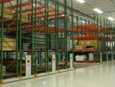 mobilized pallet rack industrial rolling storage