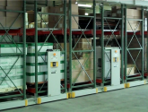 mobilized pallet racks activrac by spacesaver