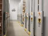 Compact Shelving for Warehouse Storage