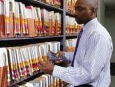 Bar Code File Tracking System Records Management Scanner