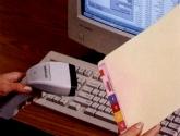Bar Code Scanning File Tracking System