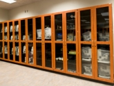 laboratory storage casework