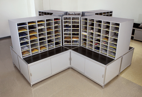 Mail Room Sorters Tables Cabinets