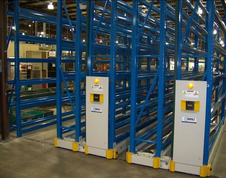 bulk-pallet-rack-storage  sc 1 st  Systec Group & Mobile Industrial Racks | Rolling Bulk Shelves | Warehouse Storage