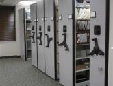 hand crank mobile shelving office storage