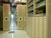 museum archive mobile shelving