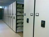 file room mobile shelving