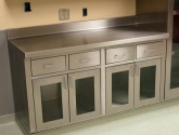 Stainless Steel Storage Cabinets for Medical Supply