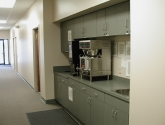 Modular Millwork Cabinets for Coffee Bar or Break Room Cabinetry