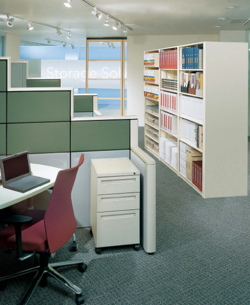 Office Storage Shelving For Binders Files Books And Equipment
