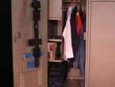Equipment and Gun Storage in a Personal Gear Locker