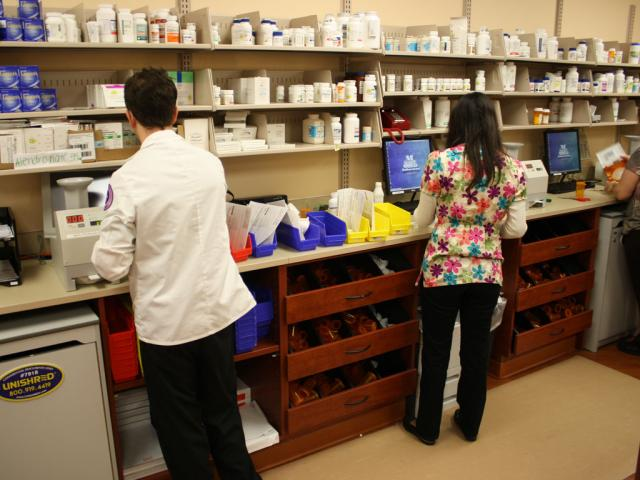 PharmStor Pharmacy Casework Storage Cabinets And Shelving