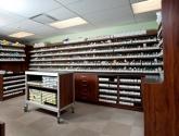Pharmacy Casework Work Island and Shelves