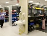 WrxStor Shelving Plastic Bin Supply Storage