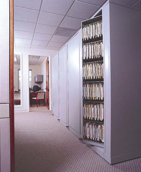 Hanging File Rotary Storage & Rotary File Cabinets   RotaryStor High Capacity Storage