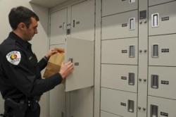 Temporary Evidence Lockers Storage