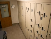 Evidence Room with Temporary Evidence Lockers