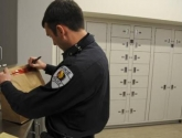 Secure Temporary Evidence Lockers