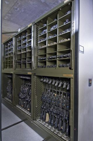 Universal Weapon Racks | WeaponStor Cabinets | Armory Storage