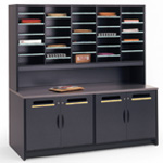 Mailroom Furniture | Mail Room Sorters Tables Cabinets