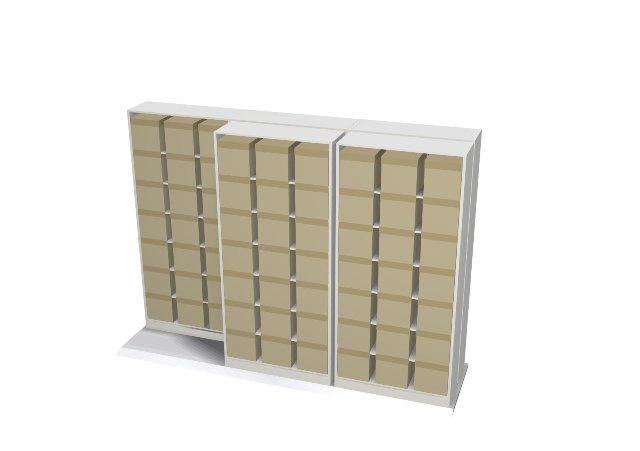 Bi File Sliding Shelving Easystor Lateral Storage System