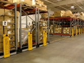 mobilized pallet racking for bulk warehouse storage