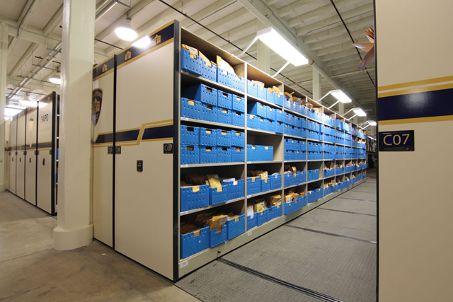 Compact Shelving | Rolling Compactor Storage Shelves