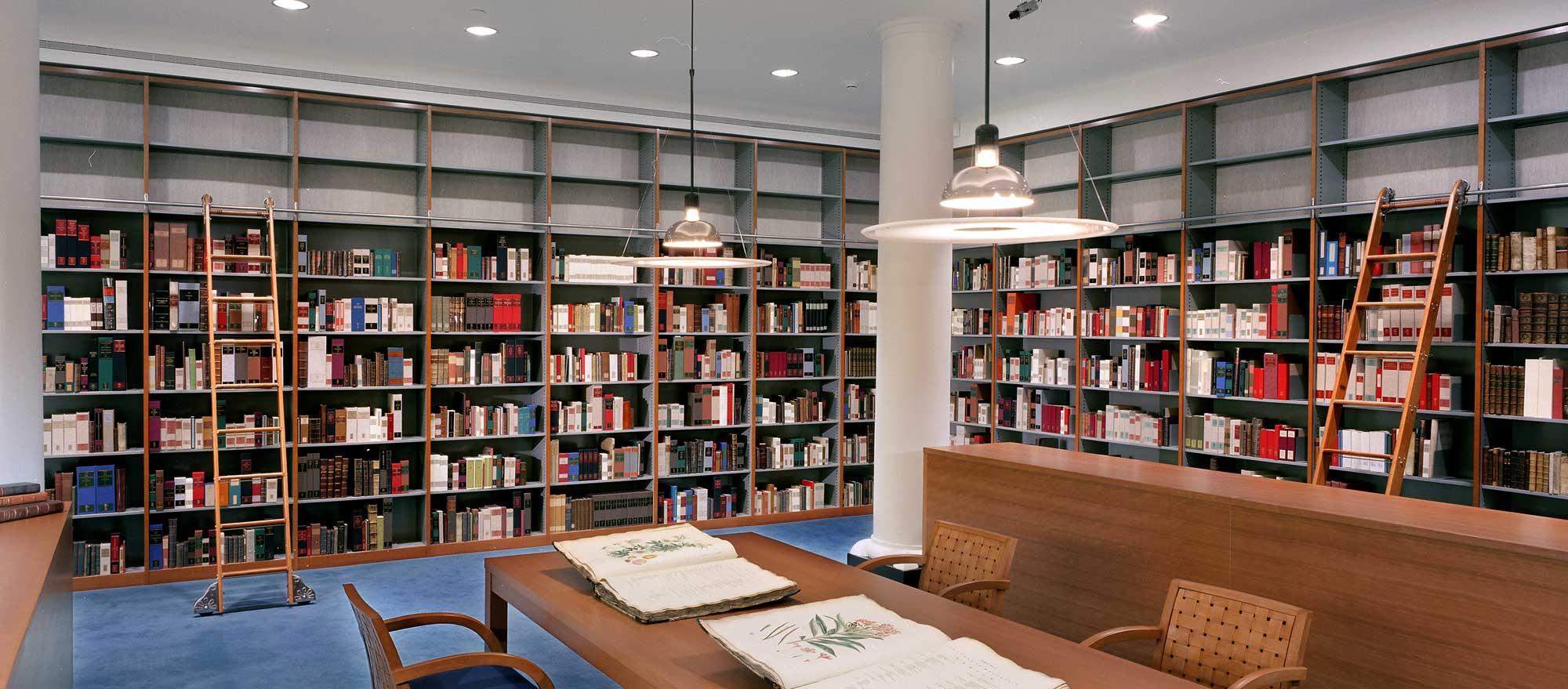 attic library ideas - Library Shelving Cantilever Book Shelves