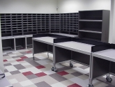Mailroom Furniture and Mail Room Sorters