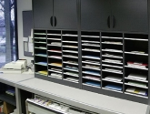 Mailroom Sorting Furniture in Black