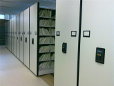 file room mobile shelving