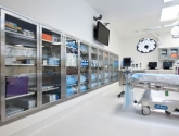 stainless steel operating room casework