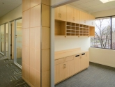 Hamilton Sorter Modular Millwork Cabinets for Mail Room
