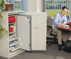 Multimedia Cabinets Fire Safe Locking Storage