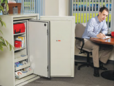 Multimedia Cabinets Fire Safe Locking Storage
