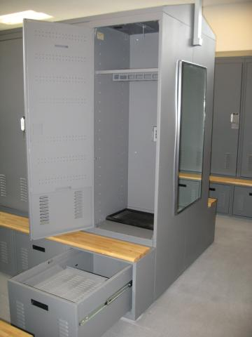 Personal Gear Lockers Lockerstor Equipment Storage