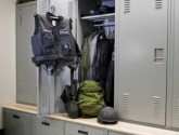 Personal Gear Lockers Storage Shelving for Equipment