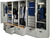 FreeStyle Personal Gear Lockers for Law Enforcement Personnel Storage