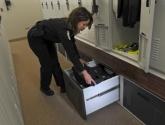 Personal Gear Locker Storage