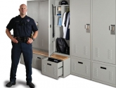 Personal Gear Lockers with Bench Storage