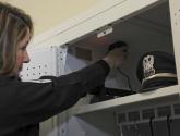 Gear Storage for Police Officer in a Personal Gear Locker