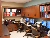 Modular Pharmacy Casework Storage Workstations