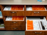 Pharmacy Casework Storage Drawers