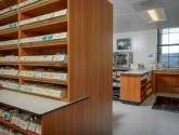Pharmacy Casework Storage Shelving Cabinets