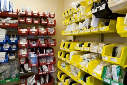 Plastic Bin Storage System Wrxstor Bin Shelving