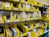 Healthcare WrxStor Plastic Bin Storage System