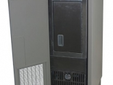 Back of Refrigerated Evidence Lockers Unit