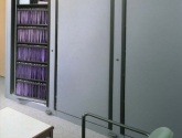 Multiple Rotary Storage Cabinets with Hanging Files