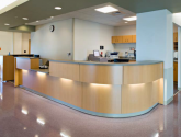 casework used in healthcare environment