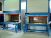 Vertical Lift Modules Used for Storage in Warehouse
